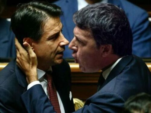 Bruto-Renzi e la pugnalata intrisa di Covid-19