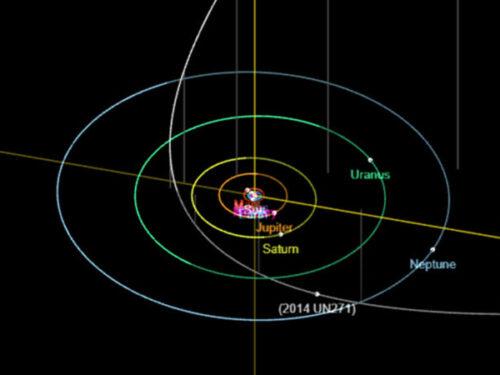 Una grande cometa in arrivo 2014 UN271