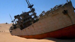Nave Cotopaxi film Spielberg